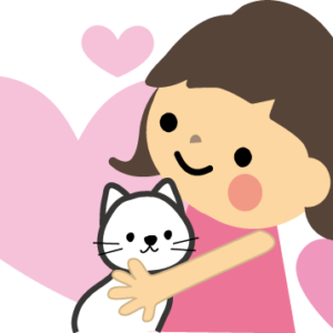猫のイラスト